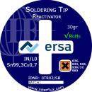 Soldering tip reactivator, 30 g can without halogen and abrasive materials