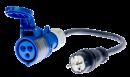 16A lizdo adapteris PAT-800, PAT-805 ir PAT-806