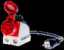 Trifazio 16A lizdo adapteris su perjungikliu testeriams PAT-800, PAT-805 ir PAT-806