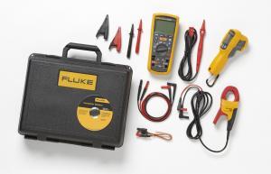 3,6 skaitmens multimetras su beviele Fluke Connect® sąsaja ir izoliacijos varžos matavimo prie 1kV įtampos funkcija – pažangus elektrinių įrenginių aptarnavimo rinkinys