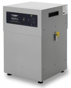 380m³/h mechaninio apdirbimo lazeriu dūmų ištraukimo filtras AD350 PC su siurbimo srauto rankinio nustatymo funkcija su NOx jutikliu