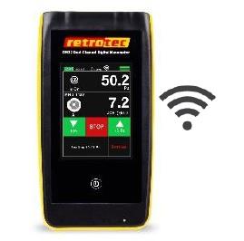 Slėgio - srauto matuoklis (mikromanometras) su bevielio tinklo (wifi) sąsaja
