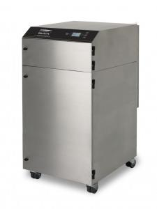 1350m³/h tiek rankinio (iki 20 darbo vietų), tiek mašininio litavimo dūmų ištraukimo ir filtravimo sistema V1500 iQ SS