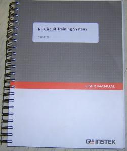 Eksperimentų su GRF-1300A aprašymas anglų kalba (instrukcijos darbų vadovui)