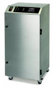 380m³/h spausdinimo garų bei dūmų ištraukimo ir filtravimo sistema PrintPRO Oracle DS su dvigubu akytuoju ir hidrofobiniu HEPA filtrais, pritaikyta sublimacinės spaudos mašinoms