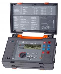 Nuolatinės srovės mikroommetras MMR-620, 0,25% tikslumo, matuojantis nuo 1µΩ iki 2kΩ, maks. srovė 10A