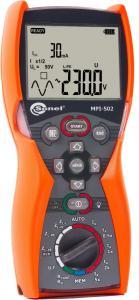 Universalus elektros instaliacijos (grandinės fazė-nulis, apsauginio laidininko varžos ir RCD/LSĮ) tikrinimo prietaisas MPI-502