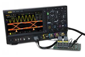 """2GHz, 4-ių kanalų, 10 GS/s skaitmeninis osciloskopas su 16 kanalų loginiu analizatoriumi, atmintis 500Mtšk., signalo atvaizdavimo ekrane dažnis 600.000kart./s, ekranas 10.1""""(1024x600)"""