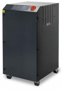 800m³/h spausdinimo garų bei dūmų ištraukimo ir filtravimo sistema PrintPRO 800 DS su dvigubu akytuoju, hidrofobiniu HEPA ir dujų filtrais, pritaikyta sublimacinės spaudos mašinoms