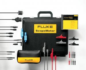 FlukeView Programinė įranga + USB kabelis + lagaminas + automobilinių matavimo priedų rinkinys (120 Serijai)