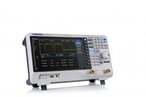 9 KHz - 3.2 GHz RD spektro analizatorius su 100kHz - 3.2GHz VNA (Vektorinė grandinių analizė), Fazinis triukšmas <-98 dBc/Hz, RBW 1 Hz-1 MHz, Min. DANL -161 dBm/Hz, Bendras amplitudės tikslumas<0.7 dB, Palaiko: TG,atstumas iki defekto, Išplėstinis matavi