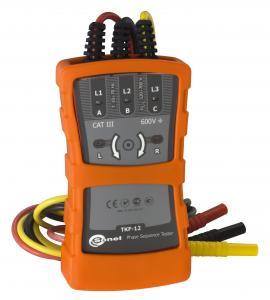 Fazių sekos indikatorius TKF-12 (120-690V) 10-70 Hz