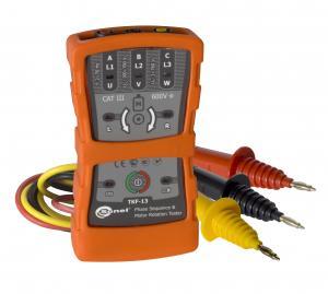 Fazių sekos ir variklių sukimosi krypties indikatorius TKF-13 (120-690V) 2-70 Hz