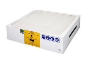 Pirminis V600 (E1142A), FumeCAB 600 (A1020128, E1142A0005) filtravimo sistemos filtras DeepPleat su giliomis klostėmis