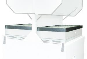 Pirminiai V4000 (E1843A), PrintPRO 4000 (L4644) filtravimo sistemos filtrai DeepPleat su giliomis klostėmis, 2 vnt.