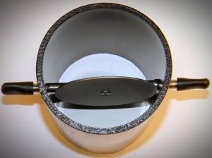 75 mm Ø ištraukimo magistralės balansavimo sklendė