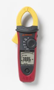 Kintamosios AC True RMS ir nuolatinės DC srovės iki 600A, vienfazės elektrinės galios ir įtampos kokybinių parametrų matavimo replės