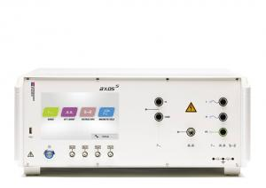 Kompaktiška 5kV atsparumo SURGE, elektriniam sparčiajam pereinamajam vyksmui EFT ir impulsų vorai BURST testavimo sistema su įtampos kryčių bei trūkių simuliavimo funkcija