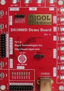 Mokomasis darbo su DS1000D osciloskopu rinkinys