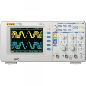 50 MHz, 2-jų kanalų, 1 GS/s skaitmeninis osciloskopas