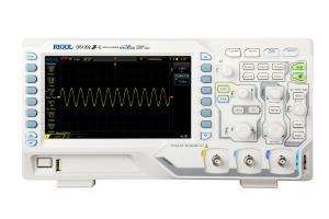 """200MHz, 2-jų kanalų skaitmeninis osciloskopas, 1GS/s, atmintis 24Mtšk., signalo atvaizdavimo ekrane dažnis 30,000kart./s, ekranas 7""""(800x480)"""
