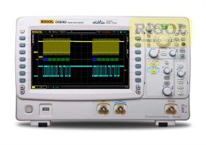600 MHz, 2-jų kanalų, 5GS/s skaitmeninis osciloskopas