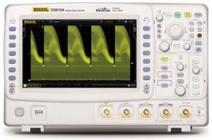 1 GHz, 4-ių kanalų, 5GS/s skaitmeninis osciloskopas