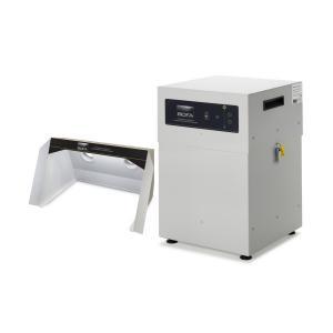350m³/h centralizuota litavimo dūmų ištraukimo ir filtravimo sistema V600 su dūmų ir dujų mišinio traukos niša FumeCAB 600