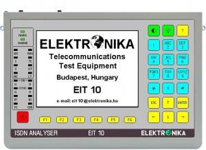 ISDN bazinės PRI ir pirminės PRI sąsajų analizatorius