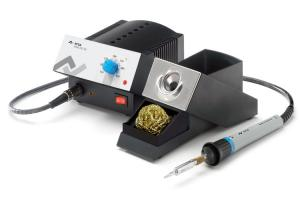 ANALOG 60 electronically temperature-controlled soldering station, 60 W with soldering iron Basic tool 60