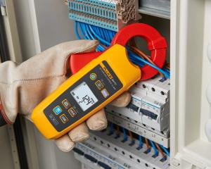 Kintamosios AC True RMS nuotėkio srovės nuo 10 µA iki 60 A matavimo replės, apkaba 40 mm