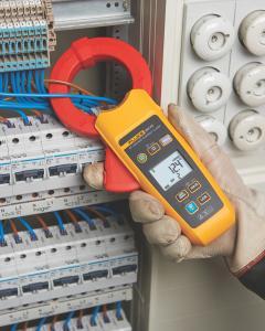 Kintamosios AC True RMS nuotėkio srovės nuo 10 µA iki 60 A matavimo replės, apkaba 61 mm