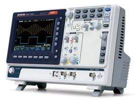 70MHz, 2-ių kanalų skaitmeninis osciloskopas, 1GS/s, atmintis 10Mtšk.