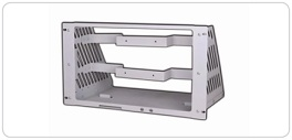 DP700 Series Rack Mount Kit (for three instruments), Option for Rigol DP700