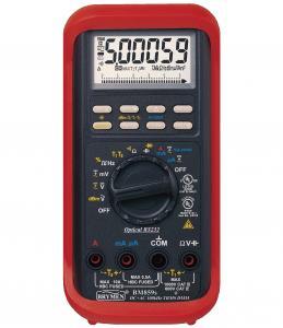 4,4 - 6 skaitmenų multimetras, CAT IV 600V, CAT III 1000V TRMS AC/DC, RS232 sąsaja su kompiuteriu