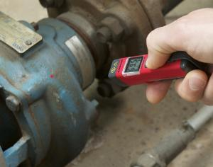 -30…500 Cdeg. 3-in-1 Infrared Thermometer with Laser Pointer and Flashlight