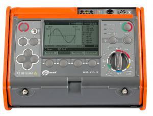 Universalus elektros instaliacijos (grandinės fazė-nulis, apsauginio laidininko, izoliacijos, įžeminimo ir RCD/LSĮ) tikrinimo prietaisas MPI-530-IT su suvartojamos galios ir elektros kokybės analizės funkcija pritaikytas darbui IT tinkle