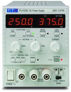 94W Vieno kanalo linijinis DC maitinimo šaltinis 250V, 0,375A