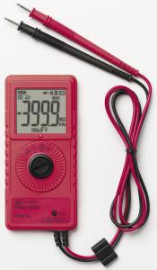 Pocket multimeter with frequency and capacitance measurement