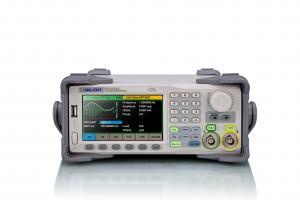 2-jų kanalų 60MHz, 150MSa/s, 16ktšk., 14bit, 4mV ~ 20Vpp (prie aukšto impedanso) laisvos formos ir funkcinių signalų generatorius su AM, DSB-AM, FM, PM, ASK, FSK, PWM, Sweep, Burst moduliacijomis ir dažnomačiu