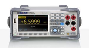 """4,5 skaitmens skaitmeninis multimetras, matavimo dažnis 150kart./s, 4,3"""" (480x272) TFT-LCD ekranas, TRUE RMS AC kintamos įtampos ir srovės matavimas, USB/LAN sąsaja"""