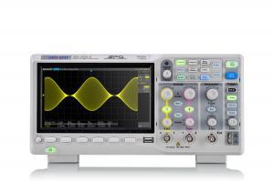"""200MHz, 2-jų kanalų skaitmeninis osciloskopas, 1GS/s, atmintis 14Mtšk., signalo atvaizdavimo ekrane dažnis 100,000kart./s, ekranas 7""""(800x480), SPO technologija"""