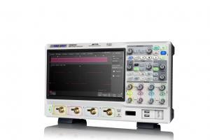 """500MHz, 4-ių kanalų skaitmeninis osciloskopas, 5GS/s, atmintis 250Mtšk., signalo atvaizdavimo ekrane dažnis 480,000kart./s, ekranas 10.1""""(1024x600), SPO technologija (Funkcinio generatoriaus, 16 kanalų loginio analizatoriaus parinktys)"""