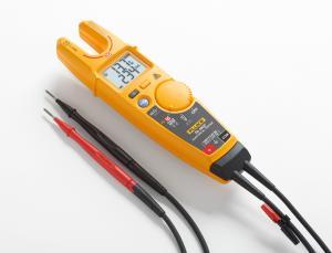 Dvipolis įtampos, srovės ir elektros grandinių testeris su nekontaktinio įtampos matavimo funkcija
