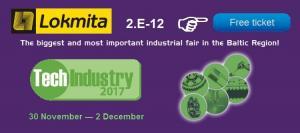 Nemokamo bilieto į Tech Industry 2017 parodą Rygoje spauskite UŽKLAUSTI