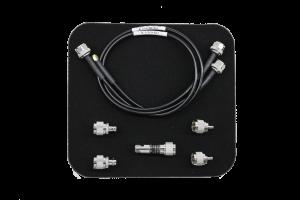 Priedų rinkinys: N (M) -SMA (M) kabelis, N (M) -N (M) kabelis, N (M) -BNC (F) adapteris (2 vnt.), N (M) -SMA (F) adapteris (2 vnt.), 10 dB, 1 W, 0 Hz - 6 GHz ateniuatorius-slopintuvas
