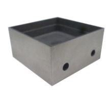 38 x 38 x 10 mm vidinių matmenų lydmetalio vonelės tipo antgalis i-SOLDER-POT, apie 100g lydmetalio