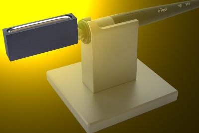 46 x 6 x 10 mm vidinių matmenų lydmetalio vonelės tipo antgalis i-SOLDER-POT, apie 12g lydmetalio
