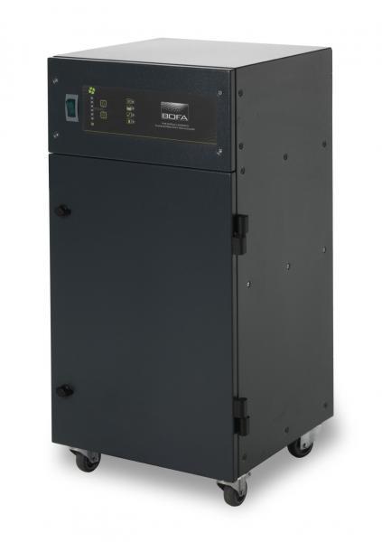 300m³/h mechaninio apdirbimo lazeriu dūmų ištraukimo filtras AD Nano Plus SS