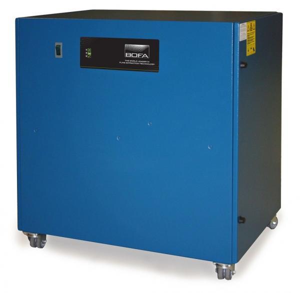 """180m³/h mechaninio apdirbimo lazeriu dūmų ištraukimo ir filtravimo """"komoda"""" AD Base Z"""